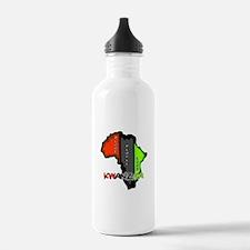 Kwanzaa Africa Water Bottle