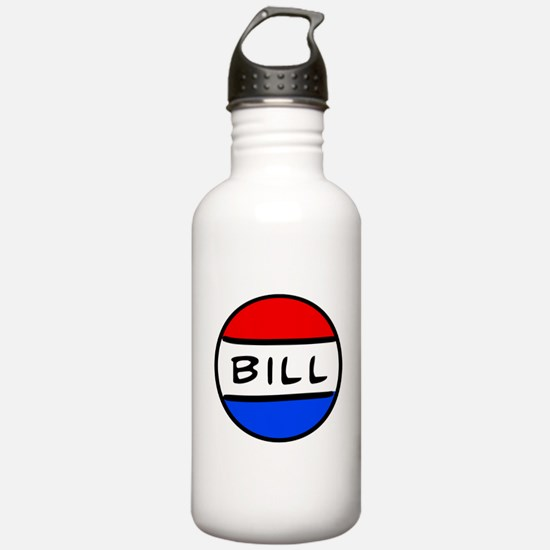 Bill Button - Schoolhouse Rock! Sports Water Bottle