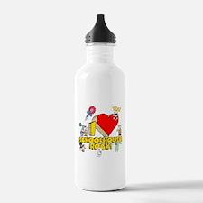 I Heart Schoolhouse Rock! Water Bottle