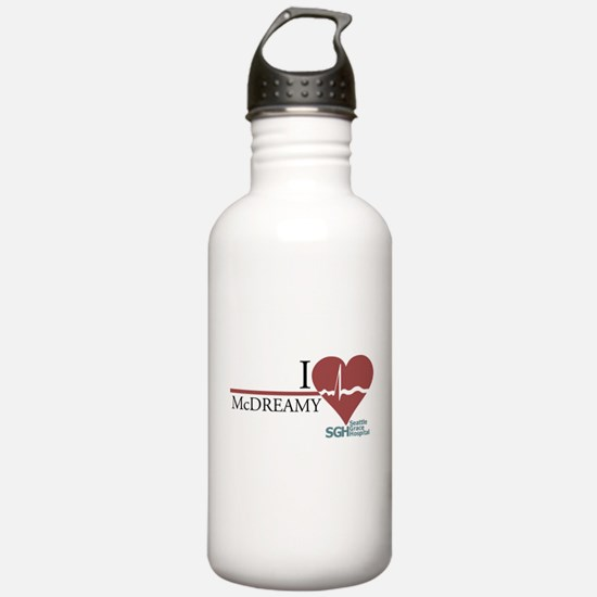 I Heart McDREAMY - Grey's Anatomy Water Bottle