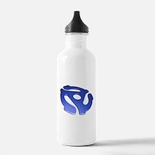 Blue 3D 45 RPM Adapter Water Bottle