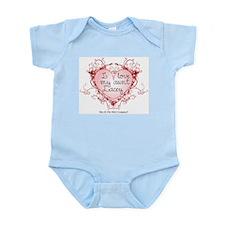 I love my aunt Lacey - Custom Infant Bodysuit