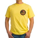 Freemasons. A Band of Brothers Yellow T-Shirt