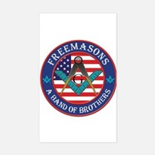 Freemasons. A Band of Brothers Decal