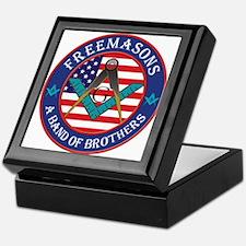 Freemasons. A Band of Brothers Keepsake Box