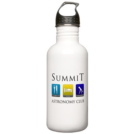 Summit Astronomy Club Stainless Water Bottle 1.0L
