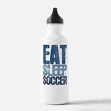 EAT SLEEP SOCCER Water Bottle