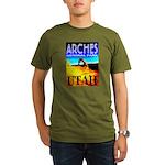 Arches National Park, Utah Organic Men's T-Shirt (