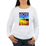 Arches National Park, Utah Women's Long Sleeve T-S