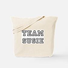 Team Susie Tote Bag