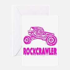 Rock Crawler Greeting Card