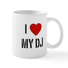 I Heart My DJ Mug
