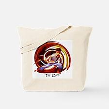 Funny Tai chi Tote Bag