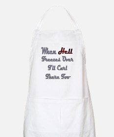 When Hell Freezes Over 2 BBQ Apron