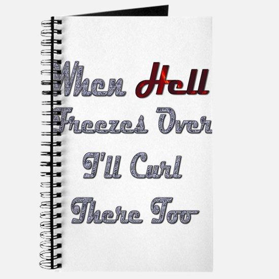 When Hell Freezes Over 2 Journal