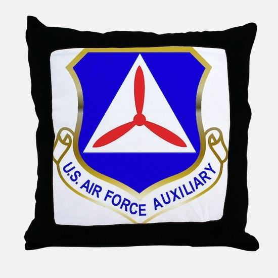 Civil Air Patrol Shield Throw Pillow