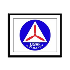 Civil Air Patrol Seal Framed Panel Print