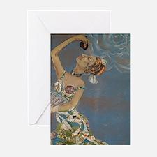Flamenco Dancer Greeting Cards (Pk of 10)