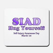 Self Injury Awareness Day Mousepad