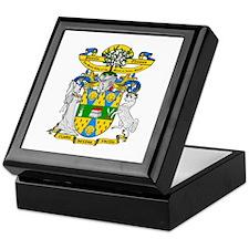 Pamela Thomas Coat of Arms Keepsake Box