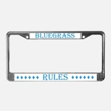 Bluegrass Rules License Plate Frame