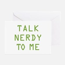 Talk Nerdy to Me Greeting Cards (Pk of 10)