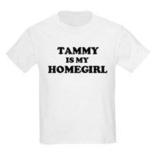 Tammy Is My Homegirl Kids T-Shirt