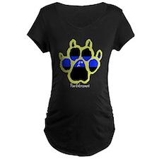"""Yellow """"P E"""" 2* (dark) T-Shirt"""
