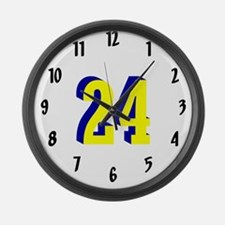 J4RF Large Wall Clock M YBL 24