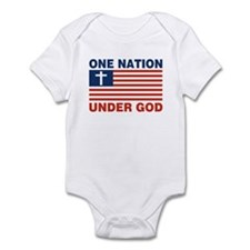 One Nation Under GOD Onesie