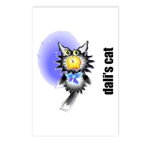 Salvador Dali's Cat Postcards (Package of 8)