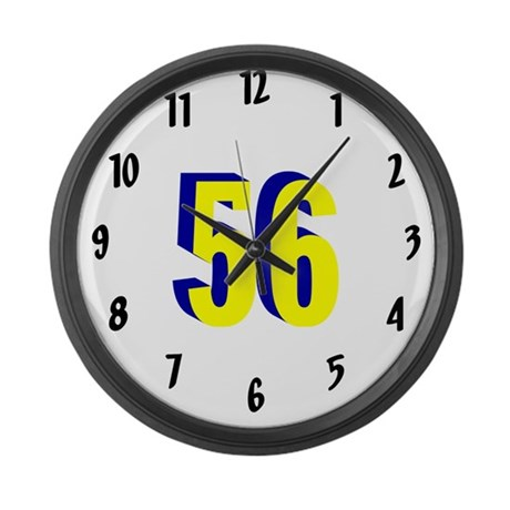 J4RF Large Wall Clock M YBL 56