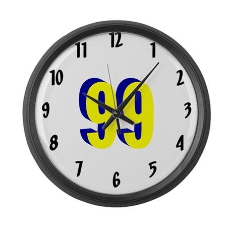 J4RF Large Wall Clock M YBL 99