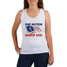 One Nation Under GOD Women's Tank Top