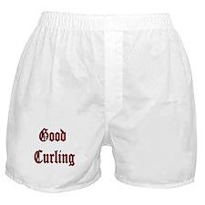 Good Curling Boxer Shorts