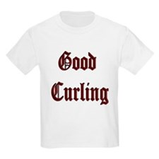 Good Curling Kids T-Shirt