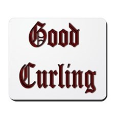 Good Curling Mousepad