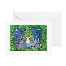 Nutcracker Christmas Ballet Greeting Cards (Pk of