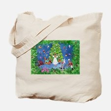 Nutcracker Christmas Ballet Tote Bag