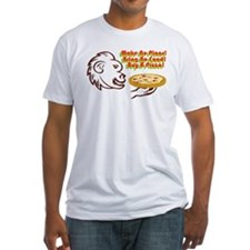 Buy A Pizza! Wht Shrt Shirt