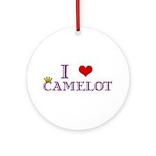 Camelot Ornament (Round)