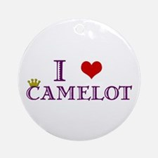 Camelot Ornament (Round)