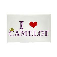 Camelot Rectangle Magnet
