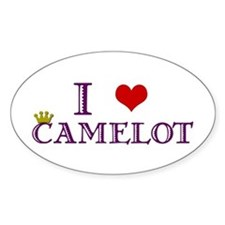 Camelot Oval Decal