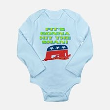 FIT'S GONNA HIT THE SHAN! Long Sleeve Infant Bodys