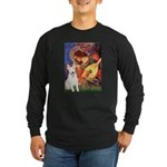 Mandolin Angel / Bull Terrier Long Sleeve Dark T-S
