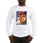 Mandolin Angel / Bull Terrier Long Sleeve T-Shirt