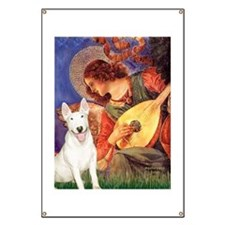 Mandolin Angel / Bull Terrier Banner