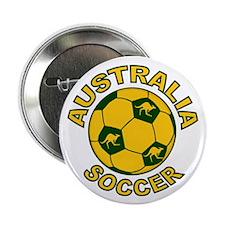 """Australia Soccer New 2.25"""" Button (10 pack)"""