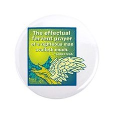 "Fervent Prayer 3.5"" Button"